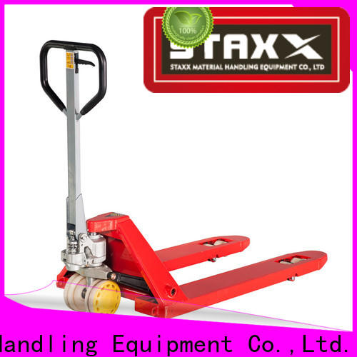 Staxx New power pallet jack for sale company for rent