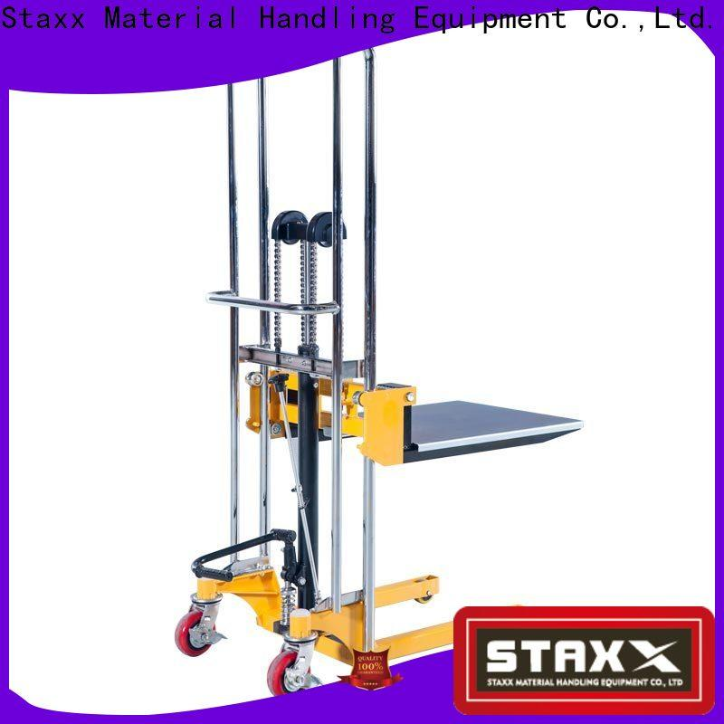 Staxx Best hydraulic lift specifications Suppliers for rent