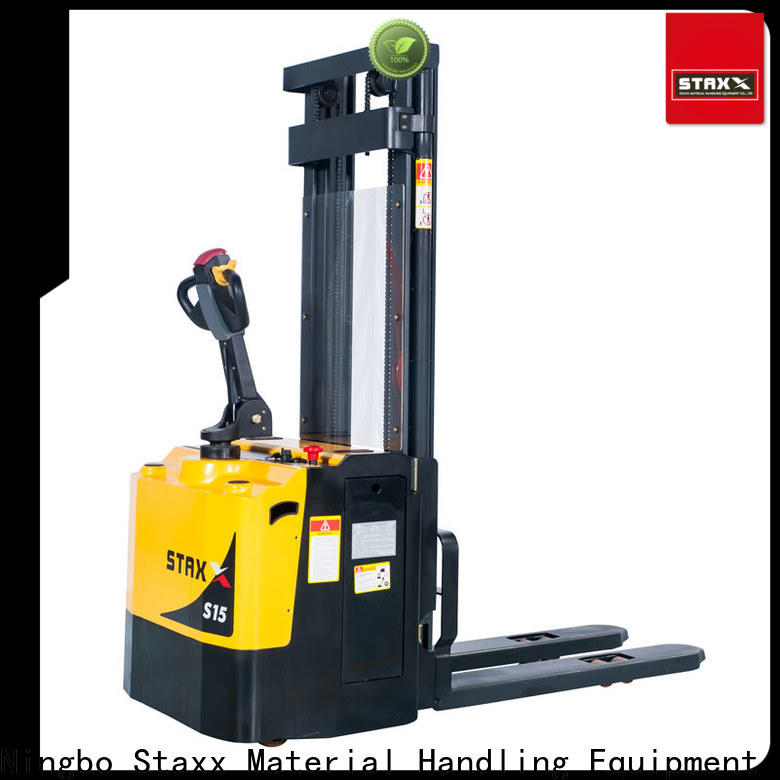 Staxx mrs121520 walkie pallet stacker manufacturers for warehouse