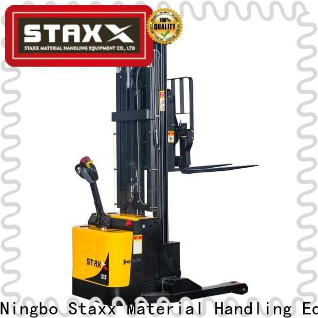 Staxx ws10s15sei powered pallet stacker factory for rent