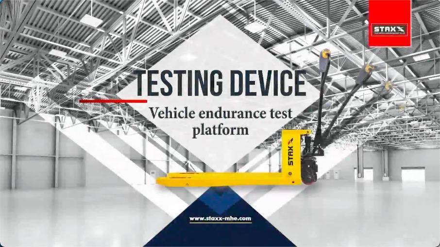 Pallet Truck Vehicle Endurance Test Platform