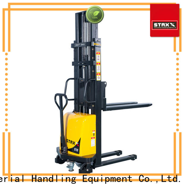 Staxx New warehouse stacker forklift factory for warehouse