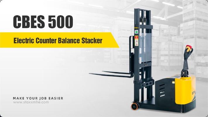 Wholesale STAXX CBES 500 Electric Counter Balance Stacker with good price - Staxx