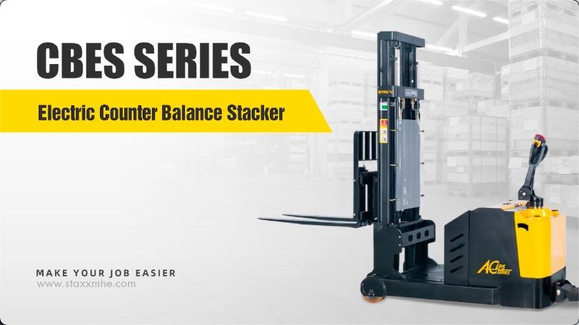 Professional STAXX CBES SERIES Electric Counter Balance Stacker manufacturers