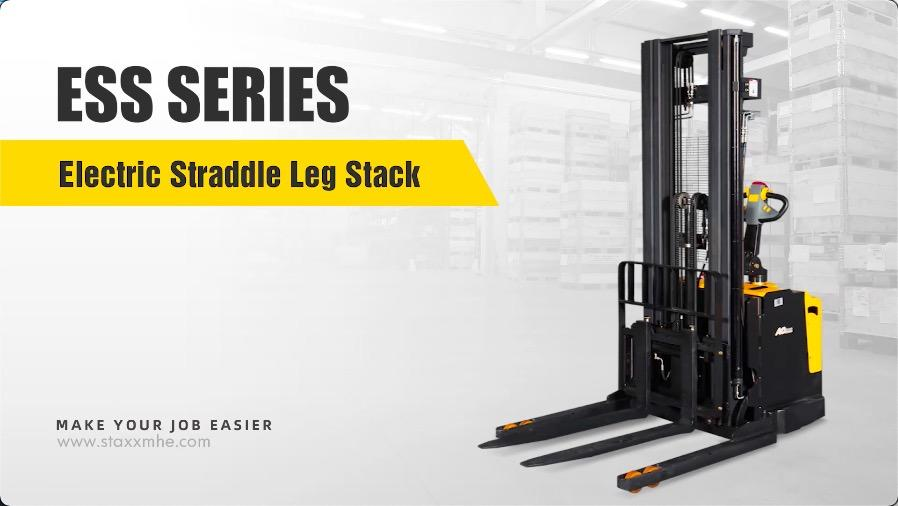 China ESS SERIES ELECTRIC STRADDLE LEG STACK manufacturers - Staxx