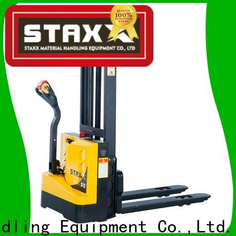 Staxx price walkie pallet stacker Suppliers for hire