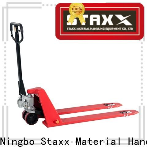 Staxx Top quick lift hand pallet truck Suppliers for hire