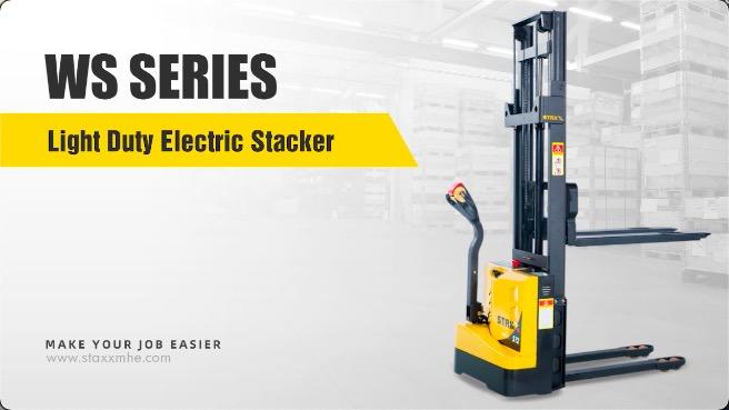 Customized WS SERIES LIGHT DUTY ELECTRIC STACKER manufacturers From China