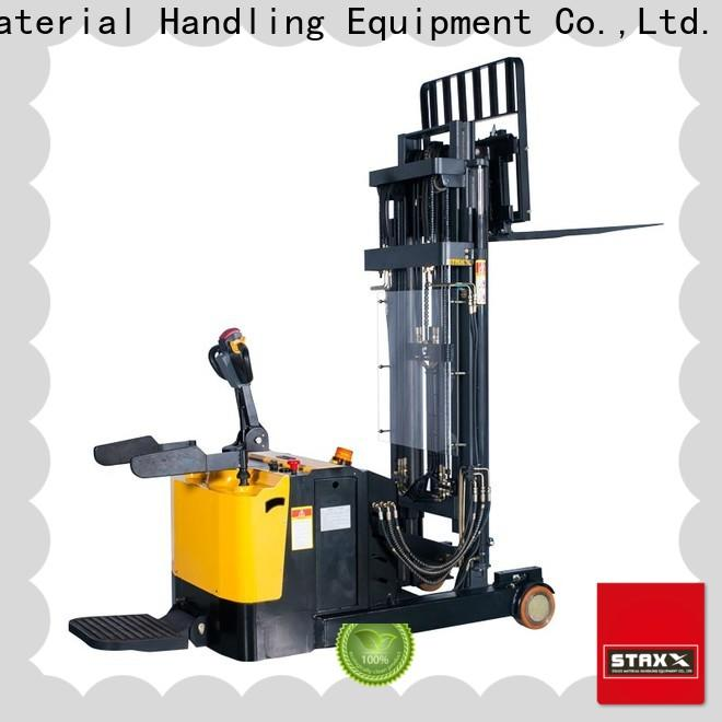 Staxx Custom pallet stacker training factory for stairs