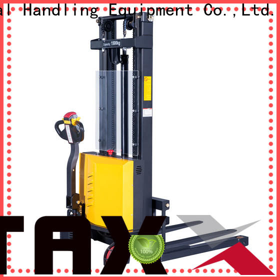 Staxx pantograph electric pallet stacker used company for hire