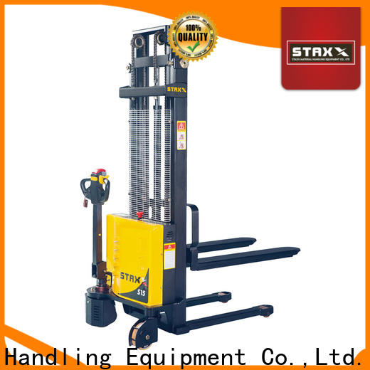 Staxx Custom pallet lift stacker manufacturers for stairs
