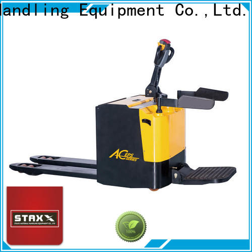 Staxx New power jack electric Suppliers for warehouse