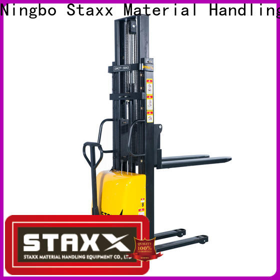 Latest used electric pallet stacker for sale wmsa manufacturers for warehouse
