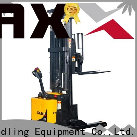 Best Staxx stainless steel pallet truck reach manufacturers for warehouse
