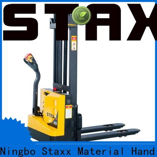 Staxx Pallet Jack Latest Staxx electric stacker glasses company for stairs