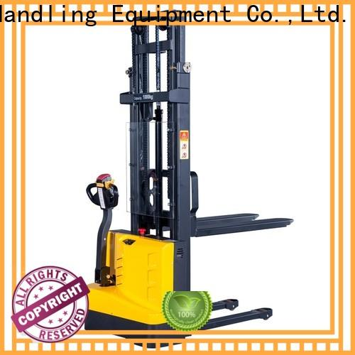 New Staxx manual hydraulic pallet stacker full Suppliers for stairs