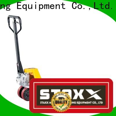 Staxx Pallet Jack Custom Staxx pallet jack adjustable height pallet jack manufacturers for stairs