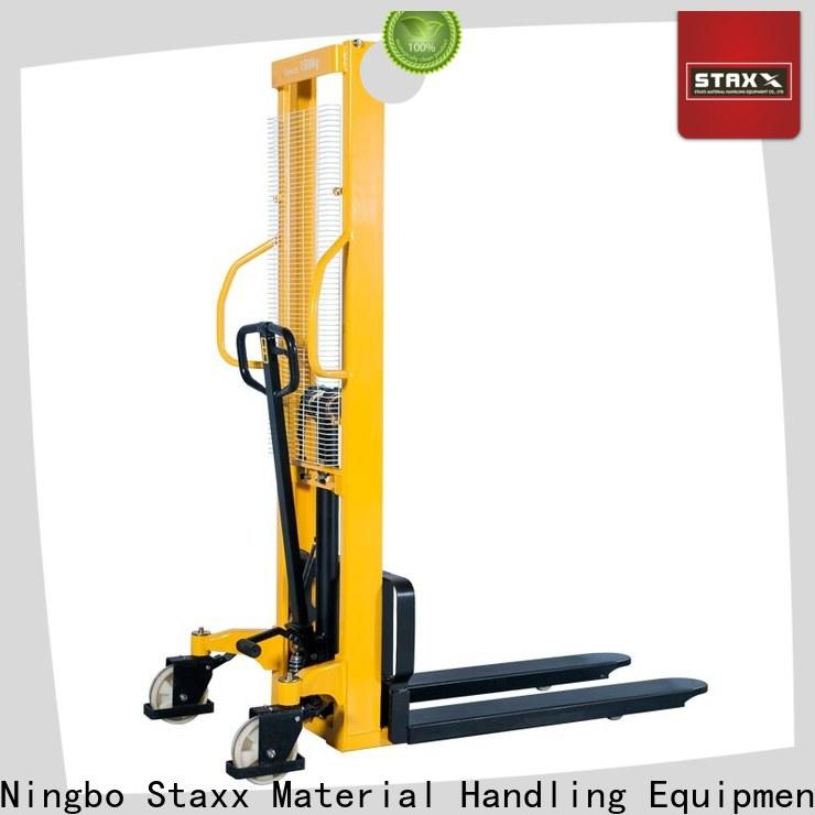 Staxx Pallet Jack over battery pallet stacker manufacturers for hire