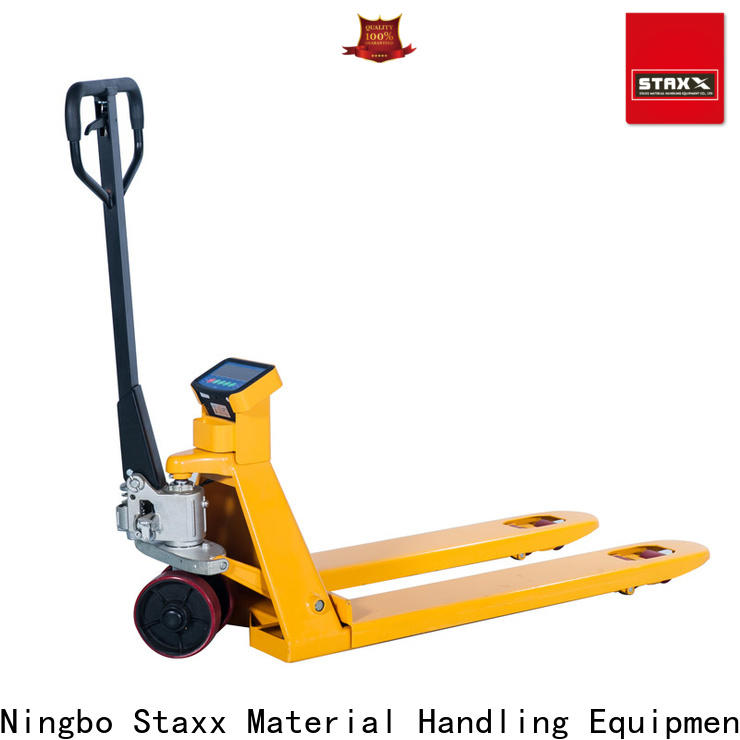 Staxx Pallet Jack stacker used hand pallet truck company for rent