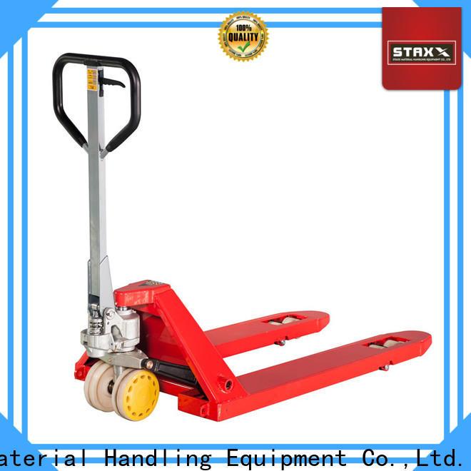 Staxx Pallet Jack Custom Staxx pallet truck scissor hand pallet truck Suppliers for warehouse