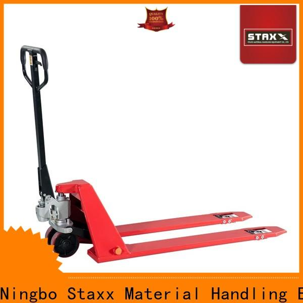 Staxx galvanized pallet jack forklift company for hire