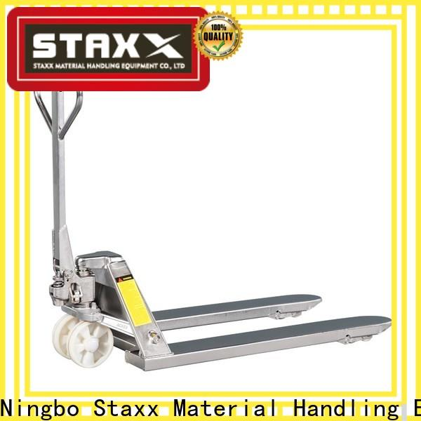 Latest Staxx pallet truck 96 pallet jack pwh253035ii manufacturers for rent