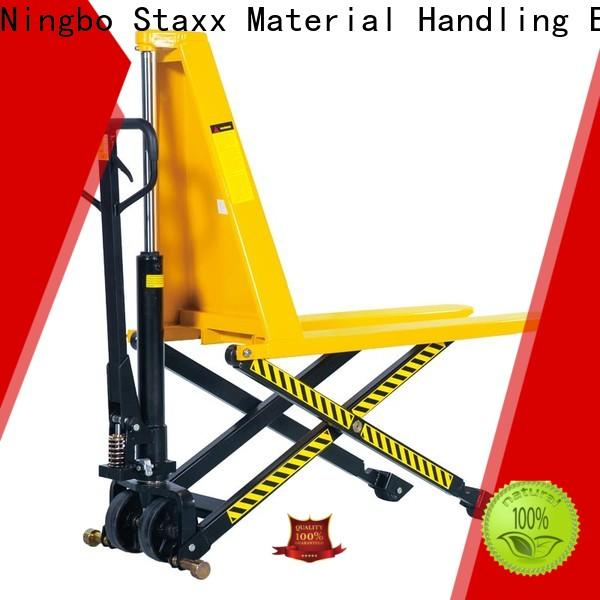 Staxx Pallet Truck weighting hand pallet lifter manufacturers for stairs