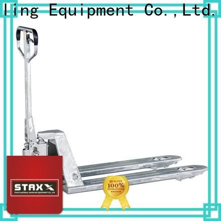Staxx Pallet Truck standard pallet truck manufacturer Suppliers for stairs