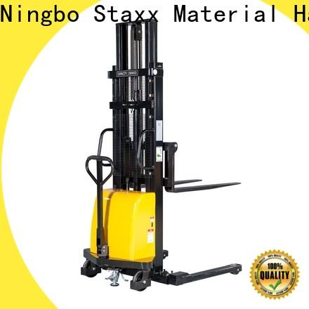 Staxx Pallet Truck warehouse high lift pallet stacker Supply for rent