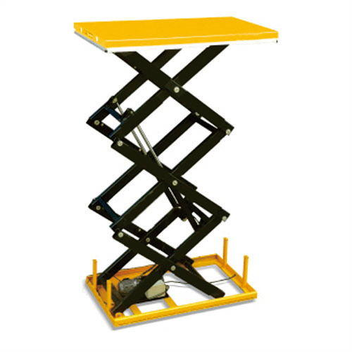 Hand pallet truck Manual Fixed lift table