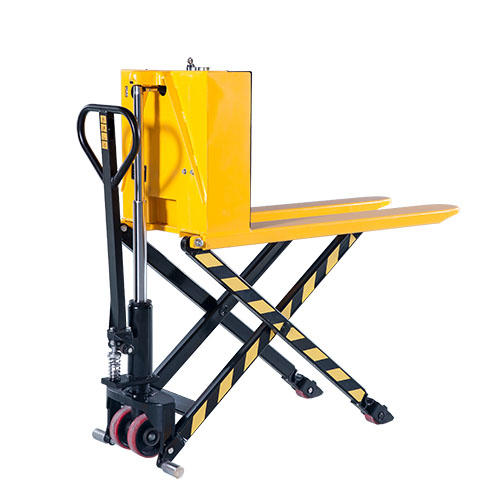 Semi-Electric Scissor lift pallet truck