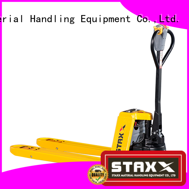 Staxx ept15h18h fork pallet truck company for rent